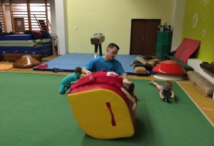 Tréningy gymnastika