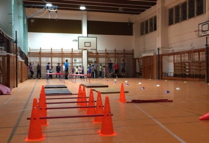 Tréningy telocvičňa